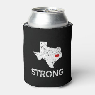 Houston Strong, Hurricane Harvey saying can cooler