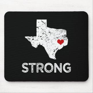 Houston Strong, Hurricane Harvey saying mouse pad
