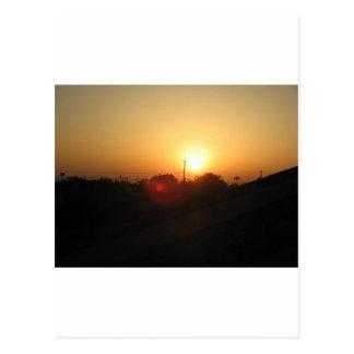 houston sunrise postcard