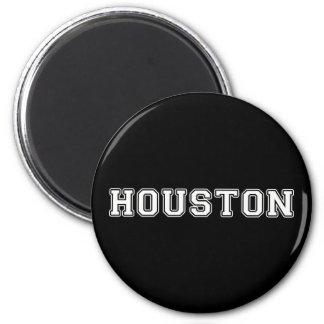 Houston Texas 2 Inch Round Magnet