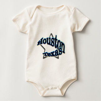Houston, Texas Baby Bodysuit