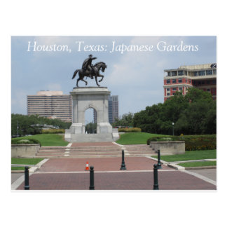 Houston, Texas: Japanese Gardens - Postcard