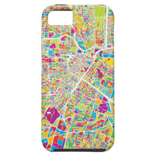Houston, Texas | Neon Map Case For The iPhone 5