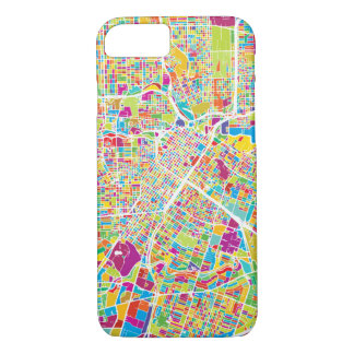 Houston, Texas | Neon Map Case-Mate iPhone Case