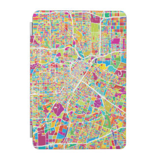 Houston, Texas | Neon Map iPad Mini Cover