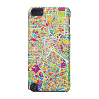 Houston, Texas | Neon Map iPod Touch (5th Generation) Cover