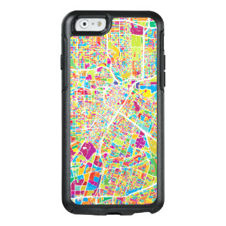 Houston, Texas | Neon Map OtterBox iPhone 6/6s Case