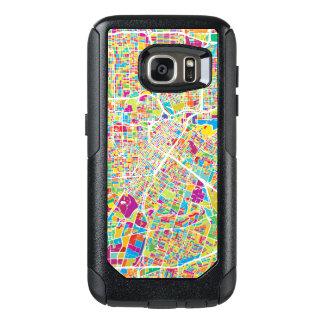 Houston, Texas | Neon Map OtterBox Samsung Galaxy S7 Case