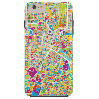 Houston, Texas | Neon Map Tough iPhone 6 Plus Case