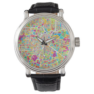 Houston, Texas | Neon Map Watch
