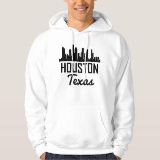 Houston Texas Skyline Hoodie