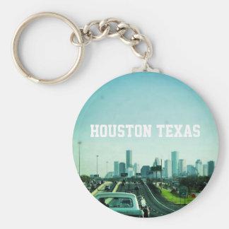 Houston Texas Skyline (Keychain) Keychain