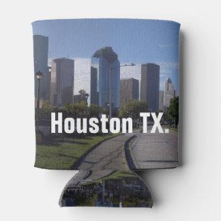Houston Texas Skyline (Panoramic) Can Cooler