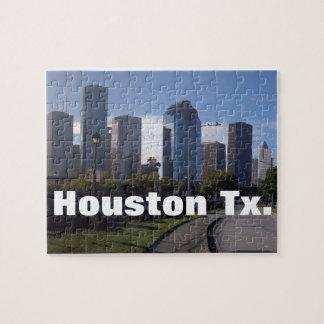 Houston Texas Skyline (Panoramic) Jigsaw Puzzle