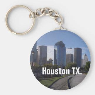 Houston Texas Skyline (Panoramic) Keychain