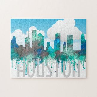 Houston, Texas Skyline - SG Jungle Jigsaw Puzzle