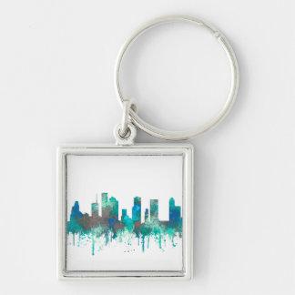 Houston, Texas Skyline - SG Jungle Keychain