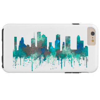 Houston, Texas Skyline - SG Jungle Tough iPhone 6 Plus Case