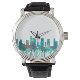 Houston, Texas Skyline - SG Jungle Watch