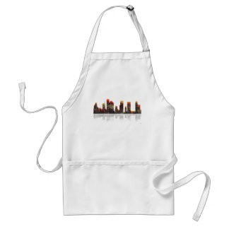 Houston Texas Skyline Standard Apron