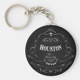Houston, Texas - Space City Keychains