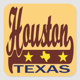 Houston, Texas Square Sticker