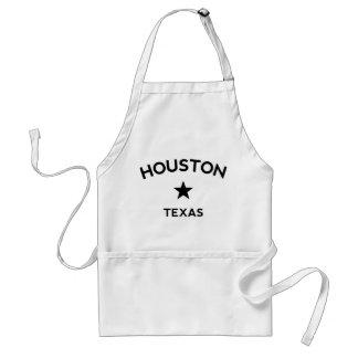 Houston Texas Standard Apron