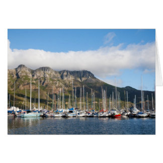 Hout Bay harbour Card