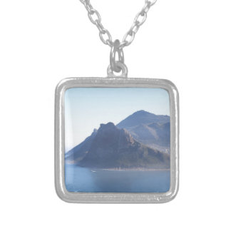 Hout Bay, South Africa Silver Plated Necklace