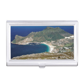 Hout Bay, The Sentinel And Atlantic Ocean Business Card Holders
