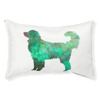 Hovawart in watercolor pet bed