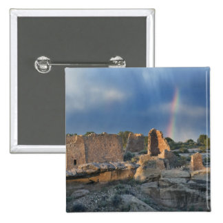 Hovenweep Castle, Hovenweep National Monument, 2 Inch Square Button