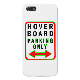 Hoverboard Parking Only iPhone 5/5S Cover