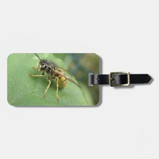 Hoverfly Macro Custom Luggage Tag