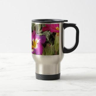 hoverfly resting travel mug