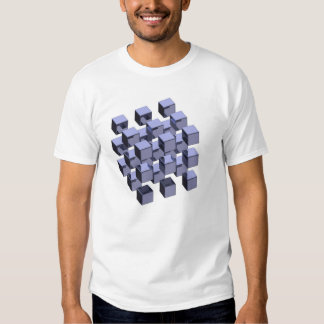 hovering cubes t-shirts