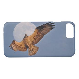 Hovering Osprey & Super Moon Photo Design iPhone 8/7 Case