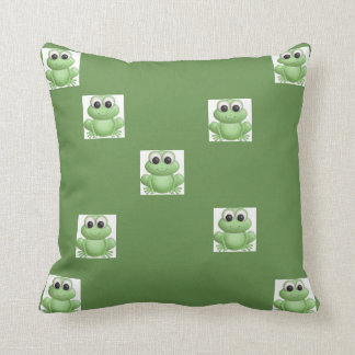 how about kissing a frog throw pillow