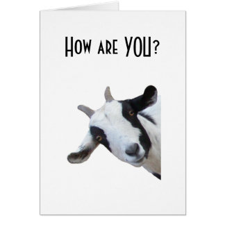 "HOW ARE ""YOU"" CAREGIVER CARD"