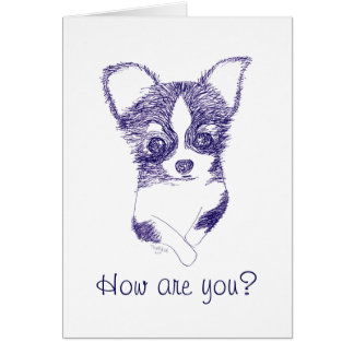 How are you? - The Polite Dog Card