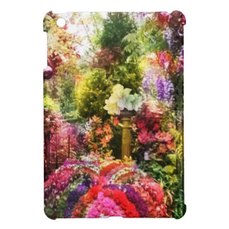 How beautiful is the garden in spring iPad mini cover