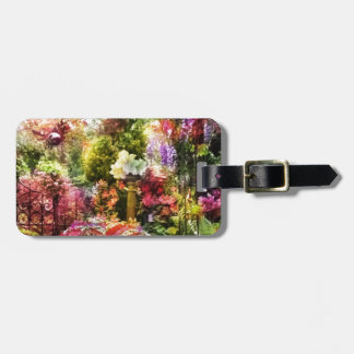 How beautiful is the garden in spring luggage tag
