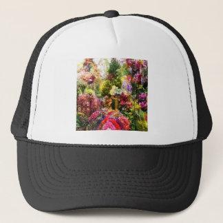 How beautiful is the garden in spring trucker hat