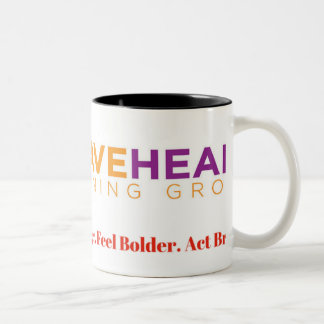 How BIG is Your Brave? Two-Tone Coffee Mug