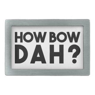 How Bow Dah Belt Buckles