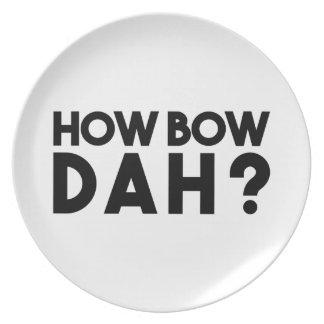 How Bow Dah Plates
