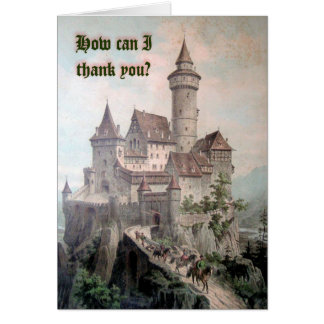 How Can I Thank You? Card