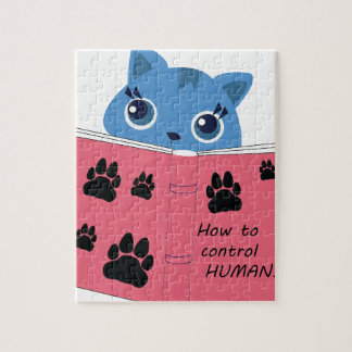 how cats control humans jigsaw puzzle