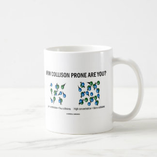 How Collision Prone Are You? (Molecules) Coffee Mug