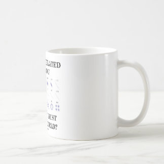 How Correlated Are You With The Rest Of The World? Basic White Mug